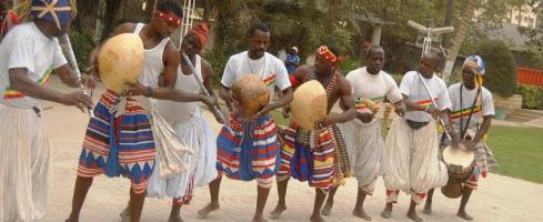 Szenegáli tánc- és dobtábor